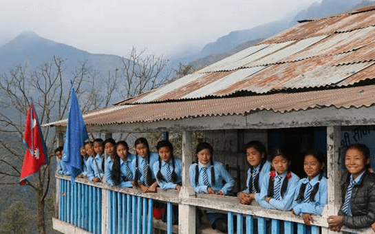 Sanwa Secondary School (Nepal) BY Human Practice Foundation ; 2 ;68000 ;40
